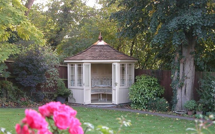 old english summerhouse - Google Search