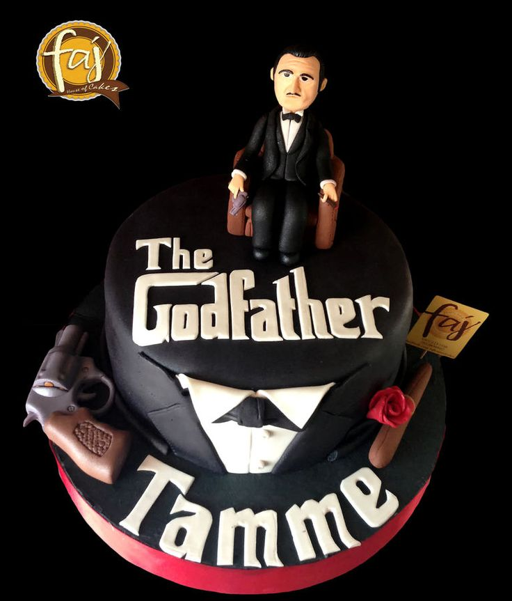 Godfather Birthday Cake