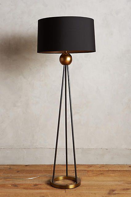 Triangulate Floor Lamp Ensemble - anthropologie.com
