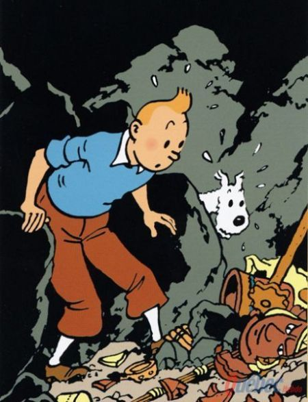 The Adventures of Tintin (French: Les Aventures de Tintin), a series of comic strips/albums created by Belgian artist Georges Remi writing under the pen name of Hergé (published 1929-1976)