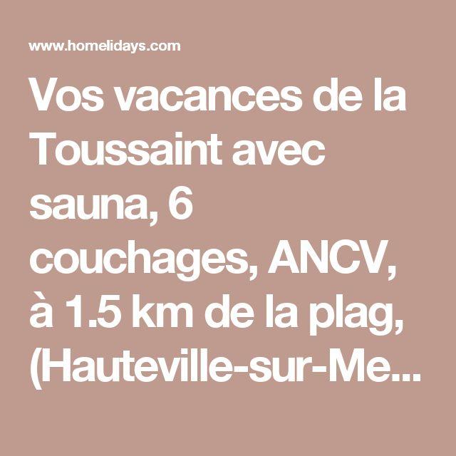 Vos vacances de la Toussaint avec sauna, 6 couchages, ANCV, à 1.5 km de la plag, (Hauteville-sur-Mer) - Location de vacances gîte avec Terrasse Hauteville-sur-Mer - 8372420
