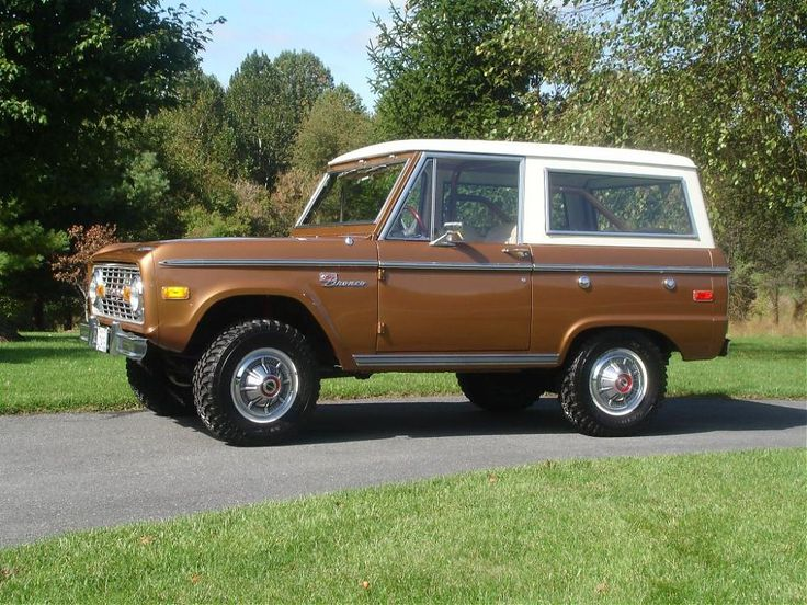 Sequoia Brown Bronco Sport Ford bronco, Classic bronco