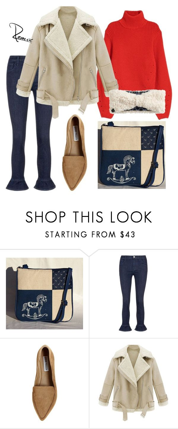 """Autumnal affair"" by aleva on Polyvore featuring J Brand, Steve Madden, WithChic and Cuddl Duds"