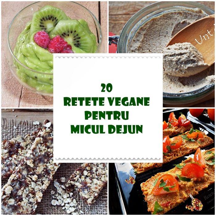 20 retete vegane pentru micul dejun--colectie compusa din 10 retete pentru un mic dejun sarat si 10 retete pentru un mic dejun dulce
