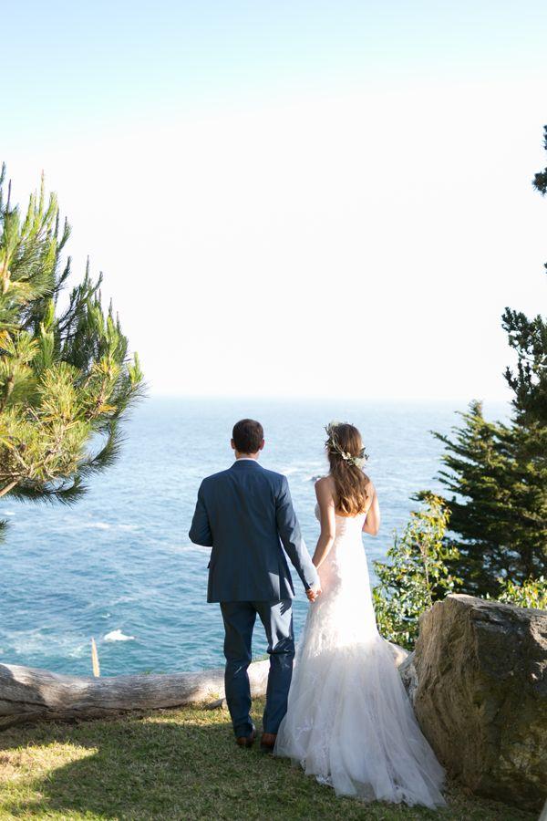 Intimate Coastal Big Sur Wedding Once