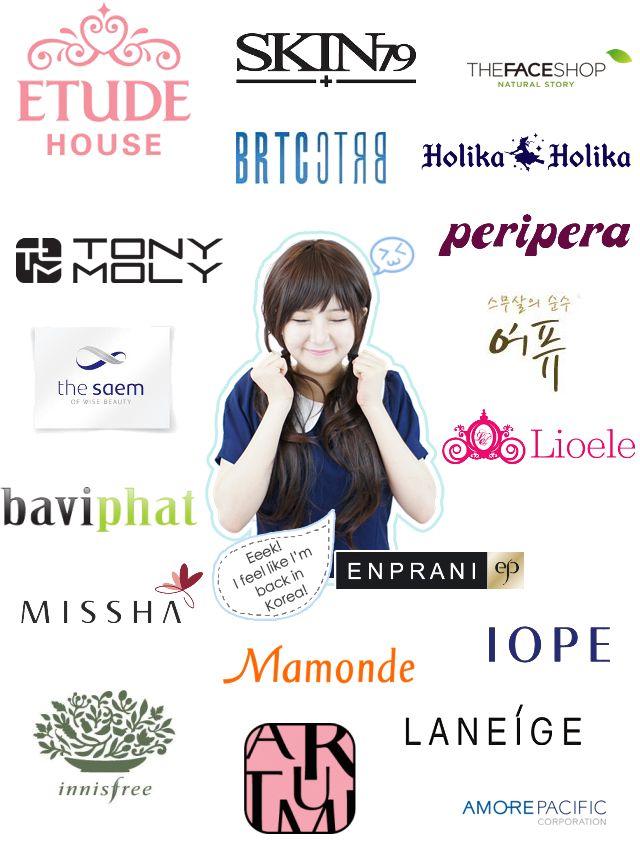 Makeup Brands: 17 Best Ideas About Korean Makeup Brands On Pinterest
