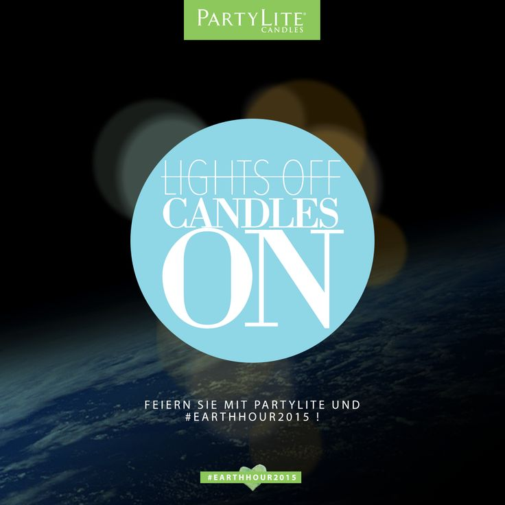 22 best Earth Hour images on Pinterest | Earth hour, Candle sticks ...