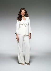 David 39 s bridal mother of bride 8125 crepe and satin trim for Lesbian wedding dresses and suits