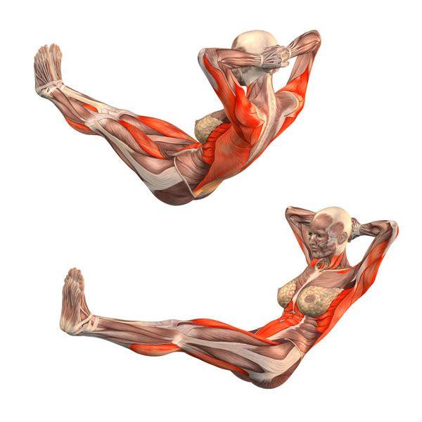 Low boat pose - Navasana - Yoga Poses   YOGA.com