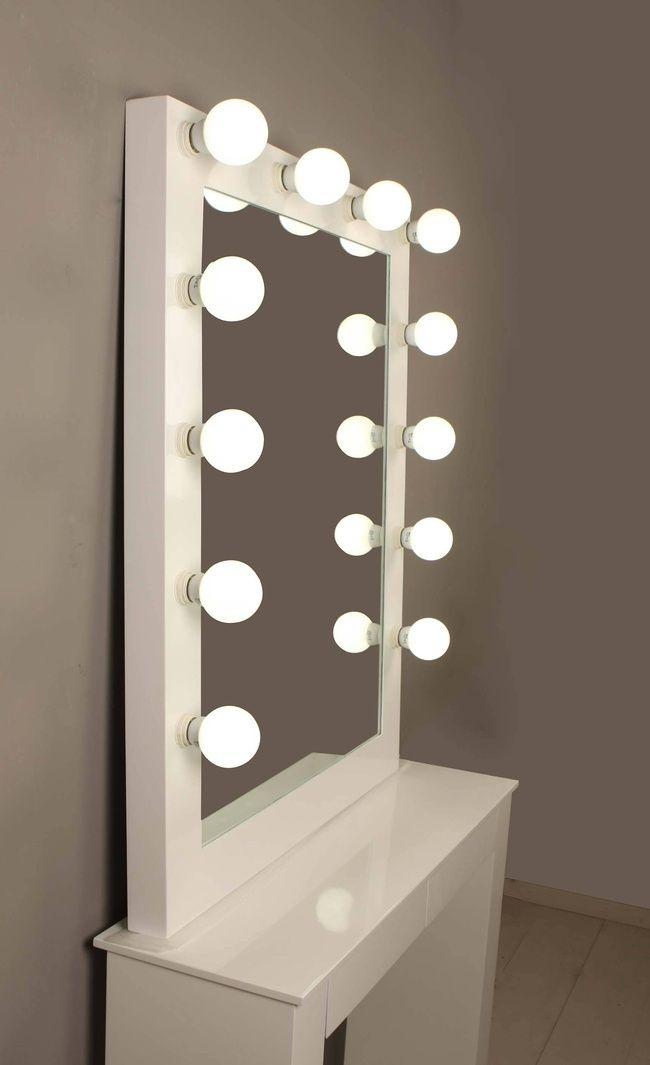 Las 25 mejores ideas sobre espejo para maquillarse en for Espejos de pared rectangulares