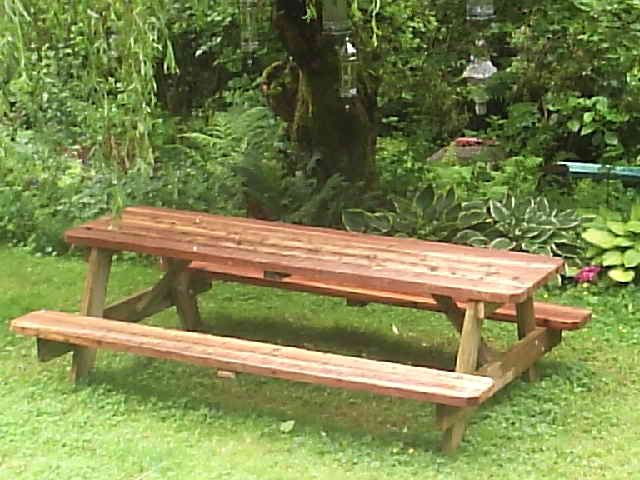 Free picnic table plans 8 foot woodworking projects plans for 8 picnic table plans