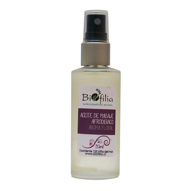 Aceite con Aromaterapia Floral Equilibrante de Biofilia Eco Cosmética