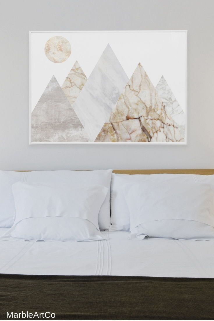 Mountains Extra Large Wall Art Bedroom Decor Nature Framed Art Prints Horizontal Landscape Print Scandin Bedroom Wall Art Scandinavian Wall Decor Art Wall Kids