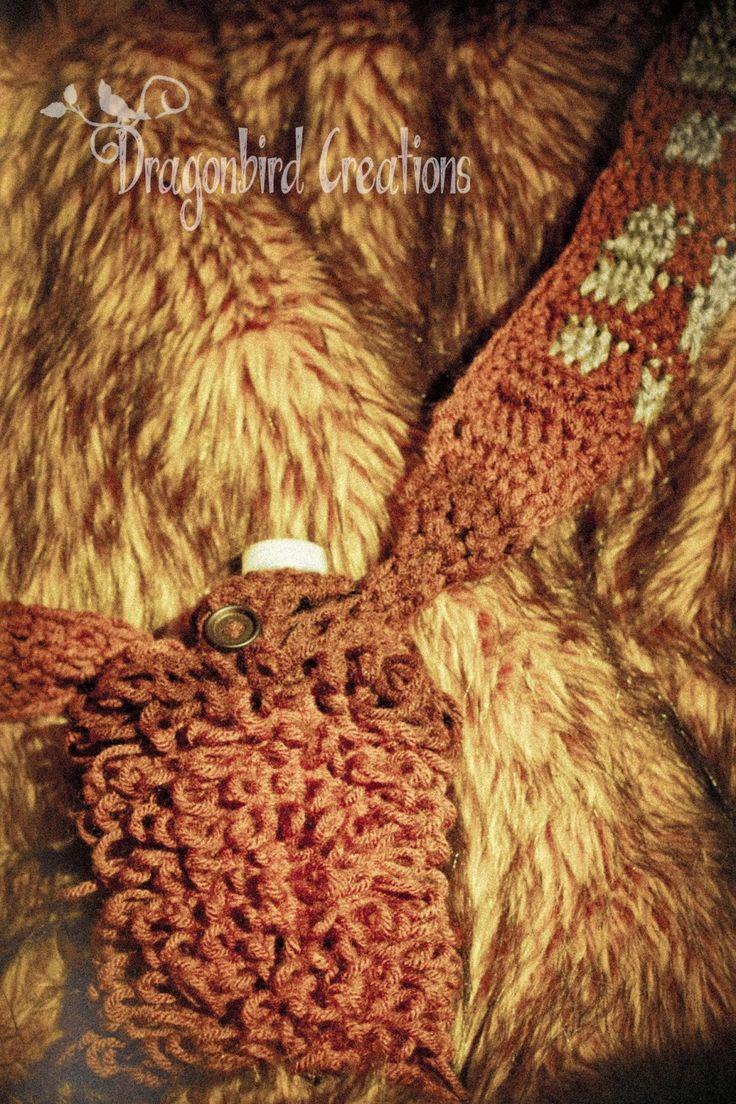 99 best crochet star wars images on pinterest knitting beads dragonbird creations adventures in crafts wookie water bottle holder free crochet pattern bankloansurffo Choice Image