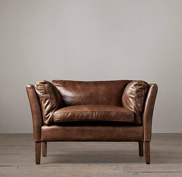 les 25 meilleures id es concernant fauteuil cuir vintage. Black Bedroom Furniture Sets. Home Design Ideas