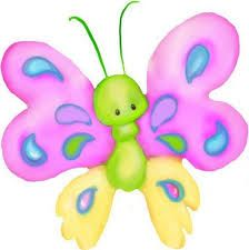 Image result for mariposas dibujos a color png