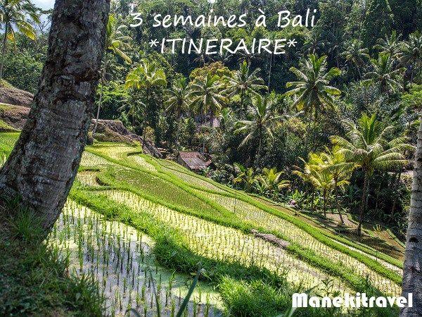 Itinéraire : 3 semaines à Bali #Bali #voyage #itineraire #indonésie #circuit