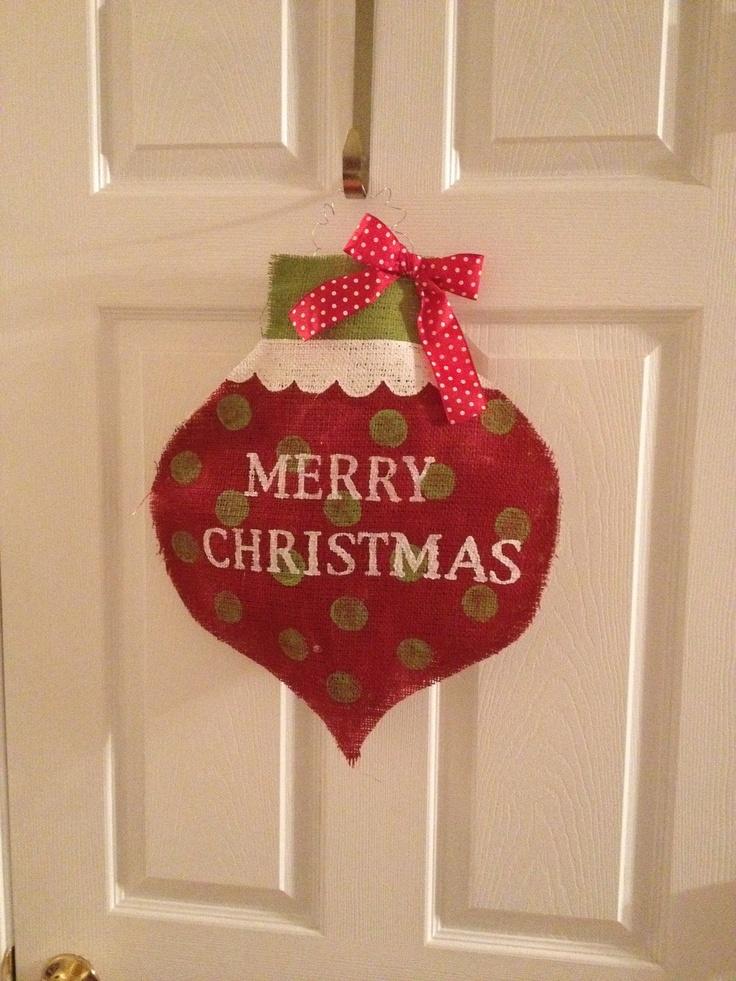 65 best Wooden Door Hangers- CHRISTMAS ORNAMENTS images on - healthcare door hanger