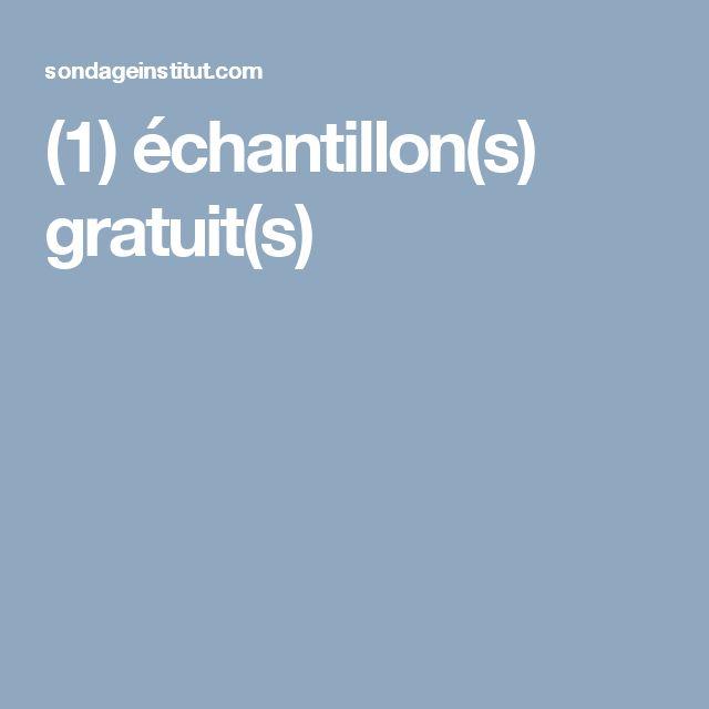 (1) échantillon(s) gratuit(s)