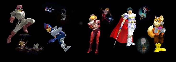 Super Smash Bros. Melee Dual Monitor  HD Wallpaper From Gallsource.com