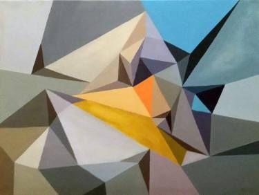 """Saatchi Art Artist Malvina - Carola Liuba; Painting, """"Scarred Letters 3"""" #art"""