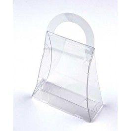 "3 1/2"" x 1 1/2"" x 4"" Purse Food Safe Box (25 Pieces) [FS210]"