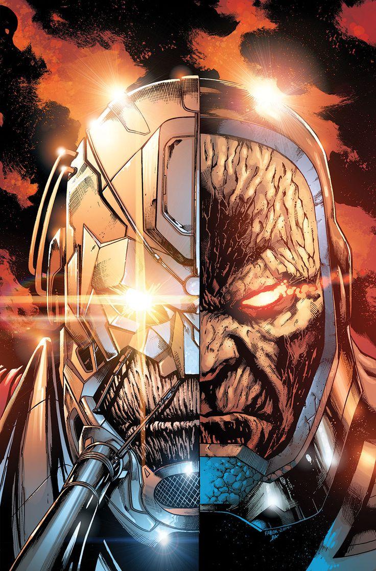 Anti-Monitor & Darkseid by Jason Fabok