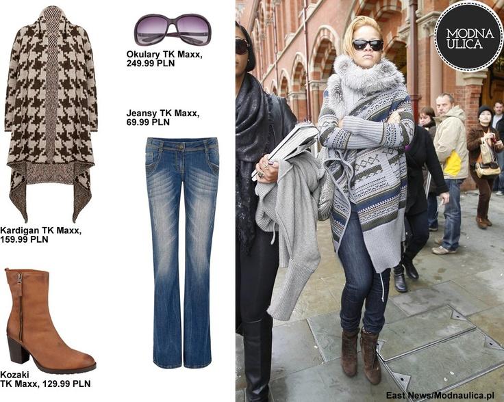 Rihanna - kreuje nie tylko muzyczne trendy, ale też świetnie bawi się modą. Czy jej ciepła, zimowa stylizacja jest hot or not?