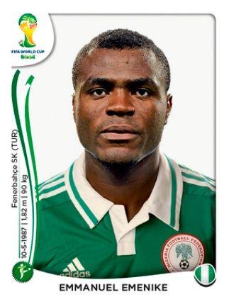 Nigeria - Emmanuel Emenike