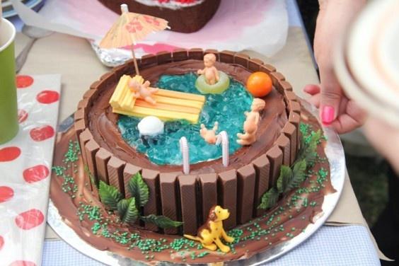 Jelly Cake Sweet I Wanna Do A Cake Like This Decorative Cakes Cupcakes Pinterest