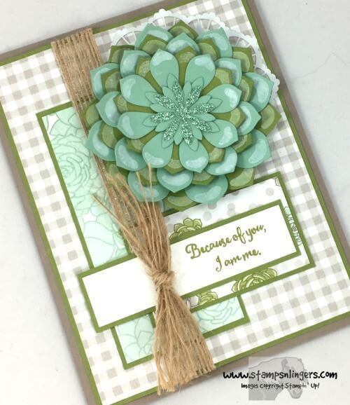 17 Best Images About Stampin 39 Up Succulent Garden On