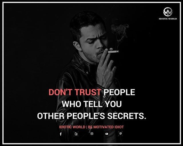 Don't Trust  -- For More Quotes Follow @idiotic.world  -- #money #motivation #success #cash #wealth #grind