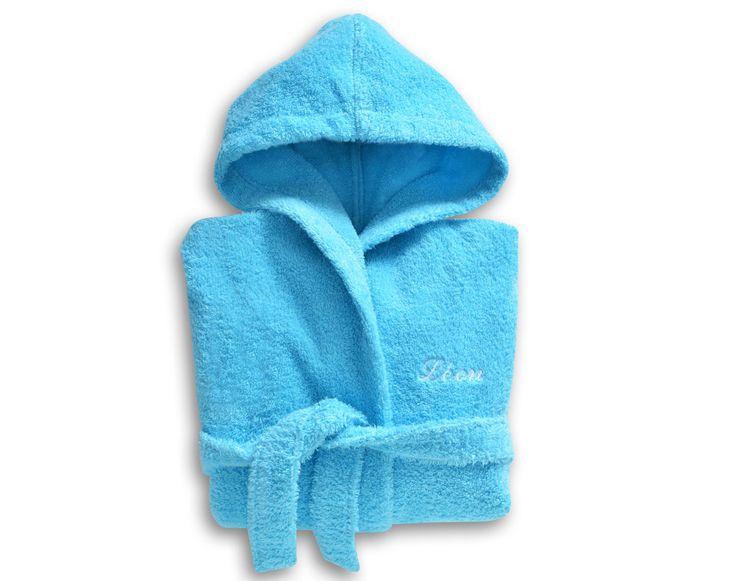 Peignoir de bain enfant LAURÉAT à personnaliser - 340 g/m2