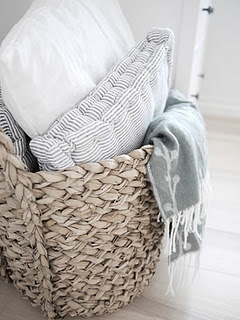 seagrass baskets..Nice comfy casual textures...