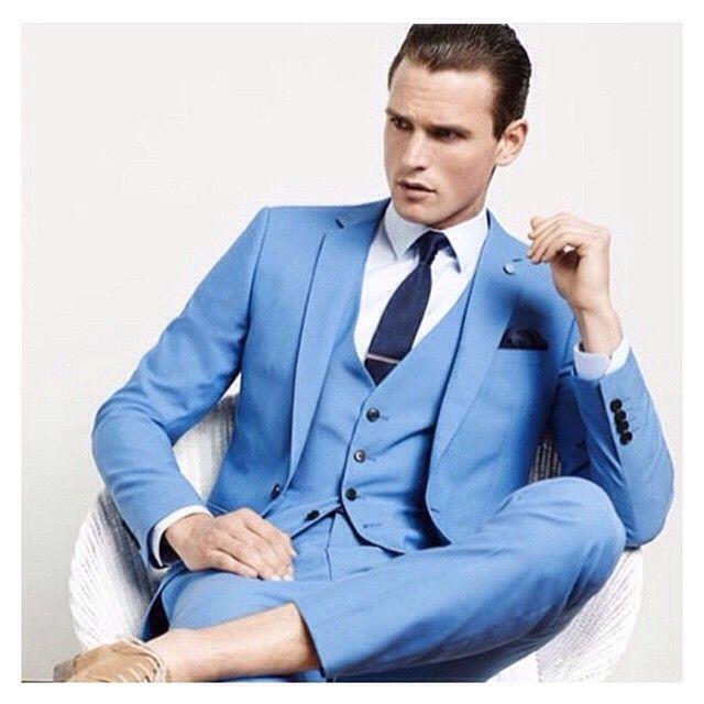 86 best Mens Suits in Blue images on Pinterest | Mens suits ...