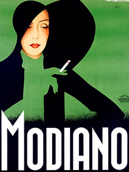 Artist Franz Lenhart had the ability to make smoking look fashionable in this circa 1930s art deco advertising poster from Italy.