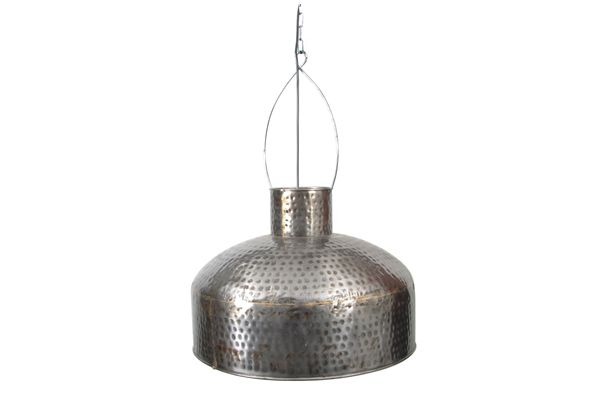 Casa Uno Iron Hanging Pendant Light Hammered Home Celing Lighting Fixture - NEW