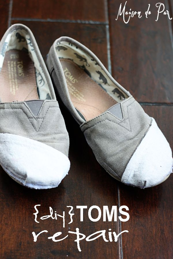 An easy tutorial to salvage your favorite old shoes!