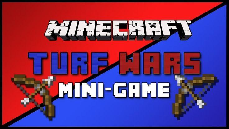 Тащим в Turf Wars и читаем репчик в Майнкрафт :D (Мультик майнкрафт)