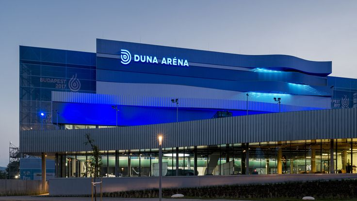 Duna Arena is the venue where most of the swimming events will take place for the 2017 FINA world games.