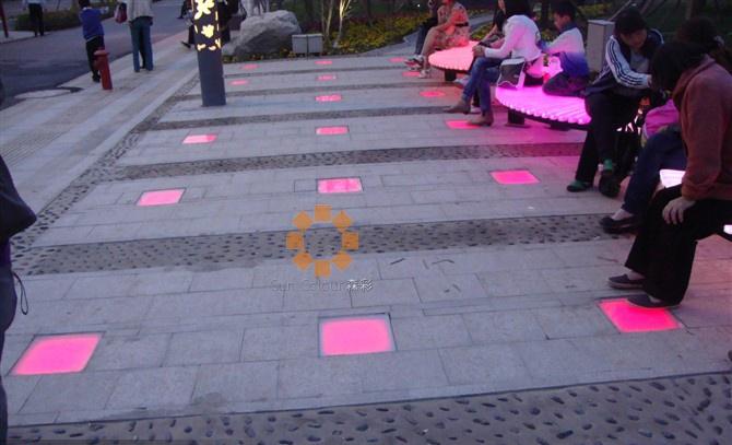 LED outdoor spot lights application case