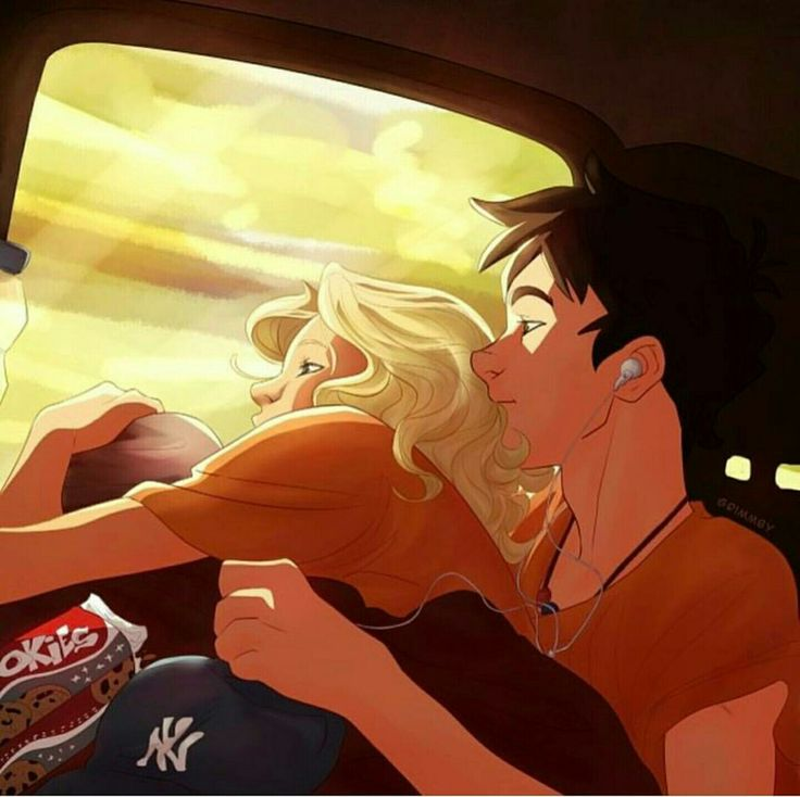 Percabeth❤️❤️the cookies though