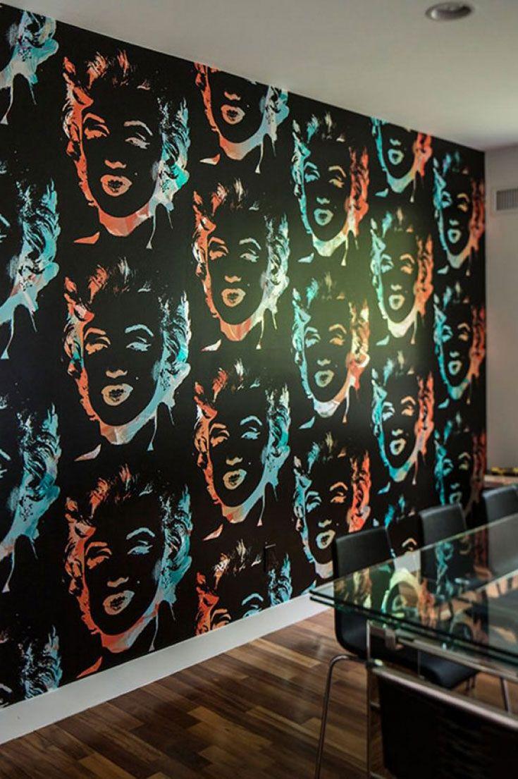 Wallpaper Andy Warhol Marilyn Andy Warhol Marilyn Wallpaper Andy Warhol