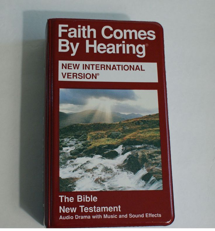 Audio Bible NIV on 12 Cassettes Faith Comes By Hearing New Testament Drama Music