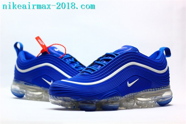 Nike Air VaporMax 97 KPU Mens Sneakers For 2018 Navy Blue in