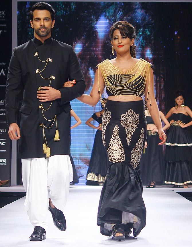 Anup Sachdev and Nidhi Subbaiah at IIJW 2015