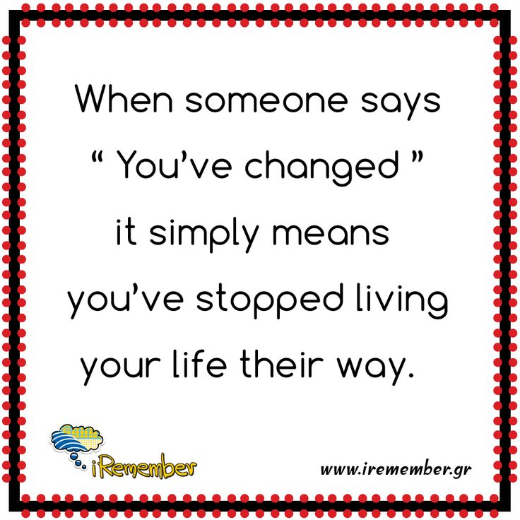 #life #change #live