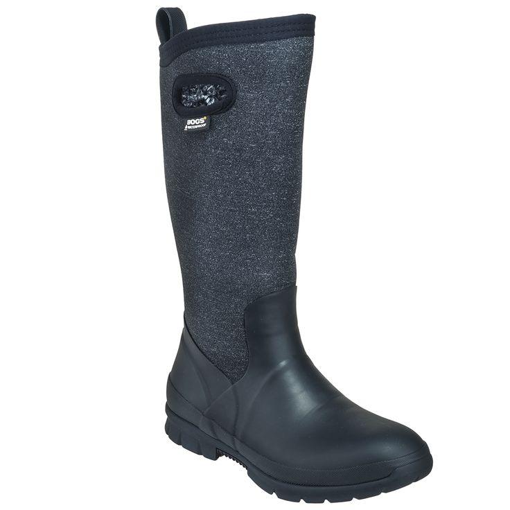 Bogs Women's 72036 009 Black Crandall Waterproof Insulated Boots