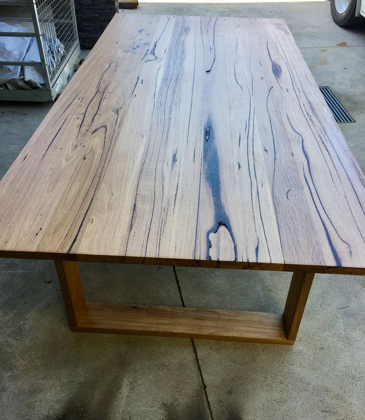Pin By Timber Revival On Our New Recycled And Reclaimed: Recycled Messmate Dining Table With Wooden Legs Made By