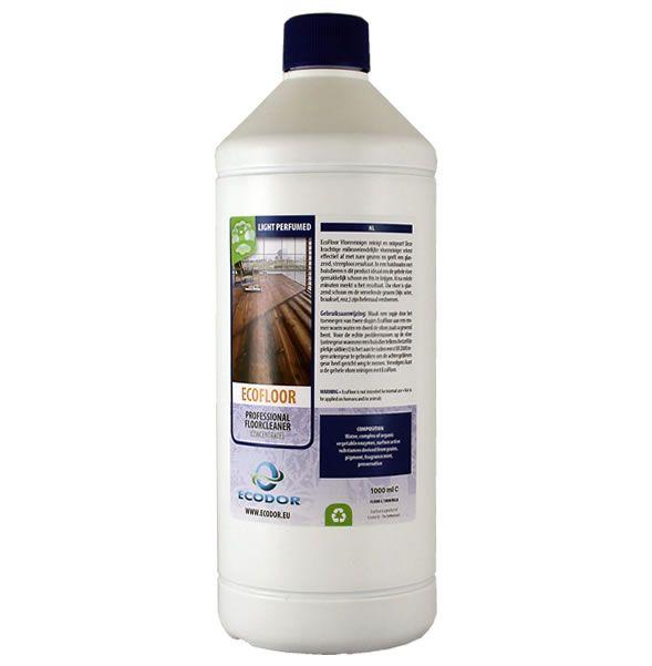 Az EcoFloor nagy teljesítményű környezetbarát padlótisztító hatékonyan távolítja el a nem kívánt szagokat és fényes, foltmentes felületet hagy maga után. Az EcoFloor a tökéletes padlótisztító az olyan háztartásokban ahol háziállatok vannak. Az EcoFloor természetes enzimeket és ártalmatlan felület aktív anyagokat tartalmaz, melyek feloldják a szennyeződéseket és a szagmolekulákat semlegesítik. A padló fényes és tiszta lesz, nyoma sincs a kellemetlen szagoknak.